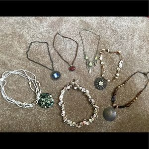Jewelry - Lot of 7 necklaces and chockers